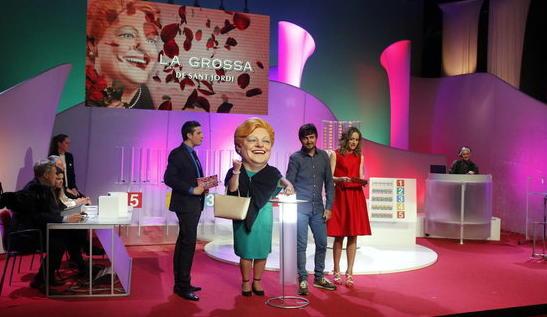 Números premiats a la Grossa de Sant Jordi de 2018
